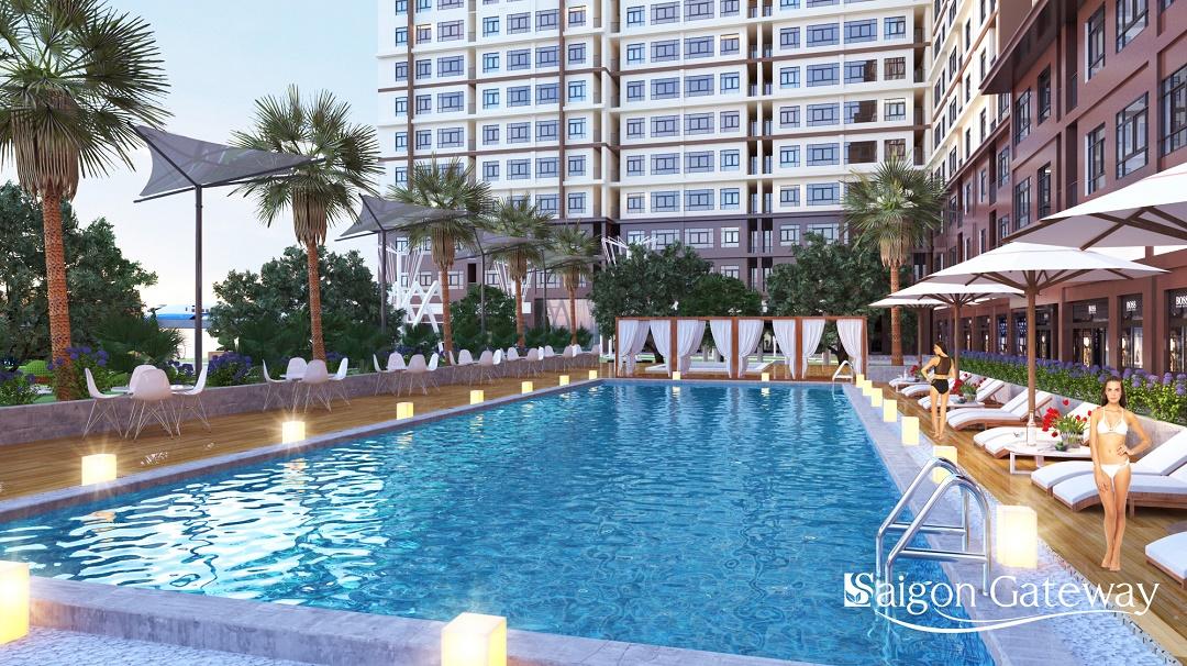 Hồ bơi Saigon Gateway