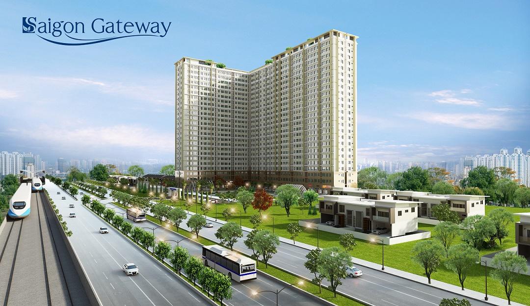 Dự án Saigon Gateway nằm ngay ga số 11 tuyến Metro Bến Thành – Suối Tiên.